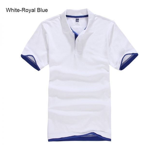 Brand New Men's Polo Shirt High Quality Men Cotton Short Sleeve shirt Brands jerseys Summer Mens polo Shirts 80
