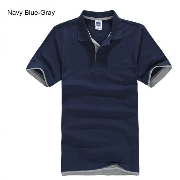 Brand New Men's Polo Shirt High Quality Men Cotton Short Sleeve shirt Brands jerseys Summer Mens polo Shirts 81