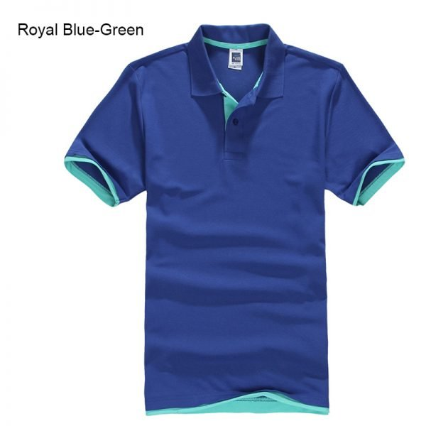Brand New Men's Polo Shirt High Quality Men Cotton Short Sleeve shirt Brands jerseys Summer Mens polo Shirts 82