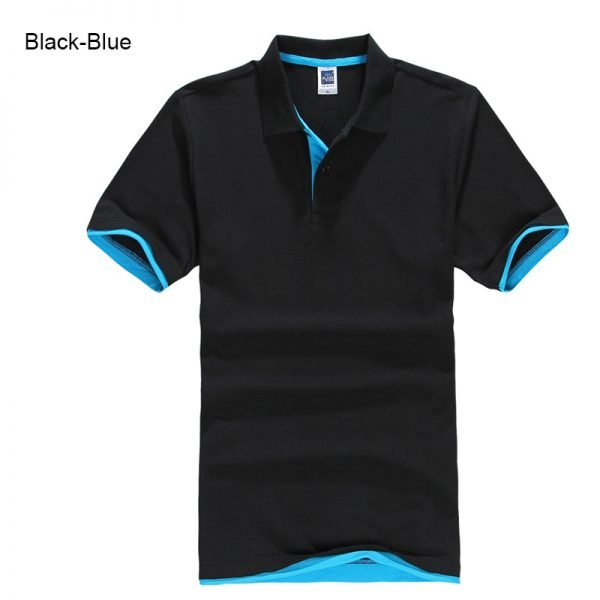 Brand New Men's Polo Shirt High Quality Men Cotton Short Sleeve shirt Brands jerseys Summer Mens polo Shirts 84