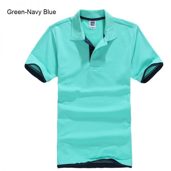 Brand New Men's Polo Shirt High Quality Men Cotton Short Sleeve shirt Brands jerseys Summer Mens polo Shirts 79